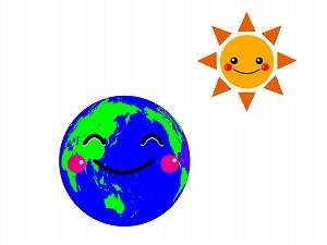 地球と太陽