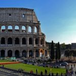 ローマ、コロッセオ