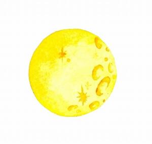 元宵節の月