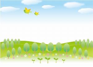 木草弥生い茂る